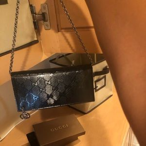 Handbags - Gucci wallet on chain